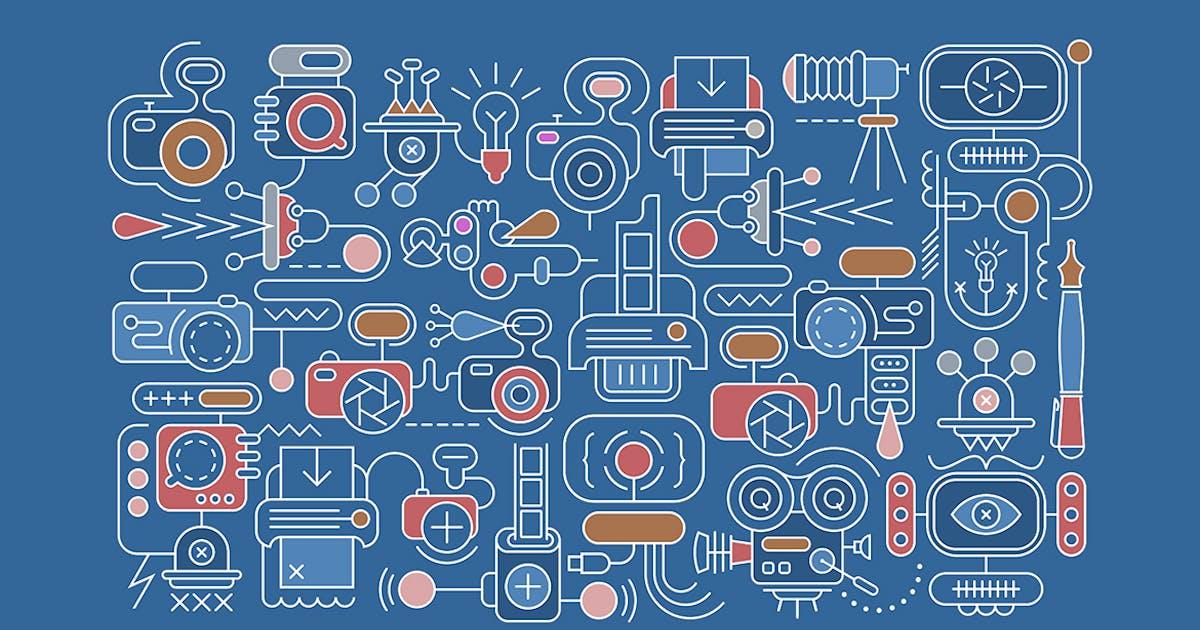 Download Photography equipment vector banner design by danjazzia