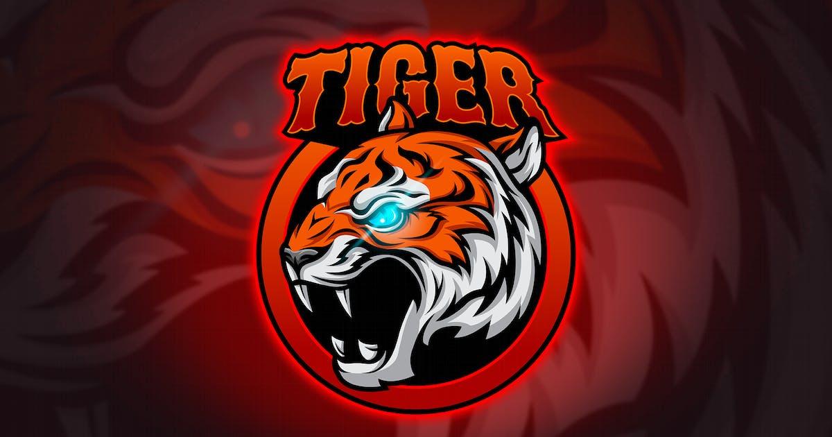 Download Tiger - Mascot & Esport Logo by aqrstudio