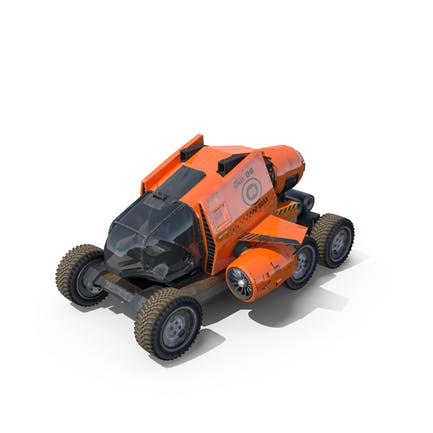 Sci Fi Spacecraft & Buggy