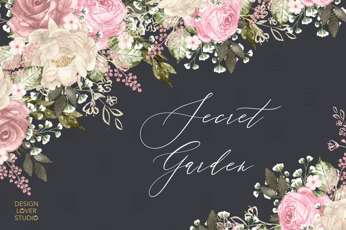 Thumbnail for Secret Garden design