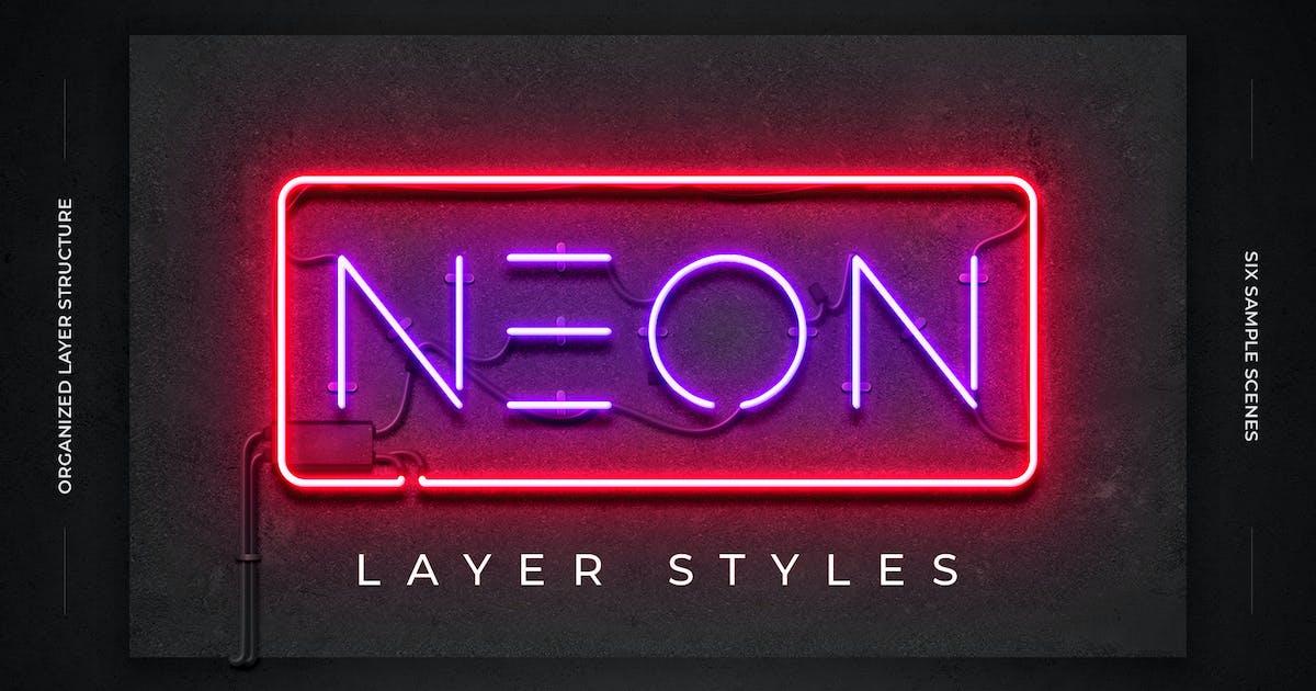 Download Neon Layer Styles by Erigonn