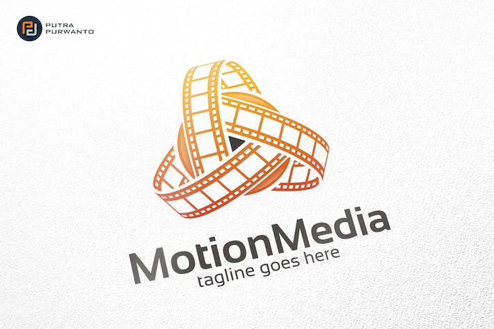 Motion Media Logo Template By Putrapurwanto On Envato Elements