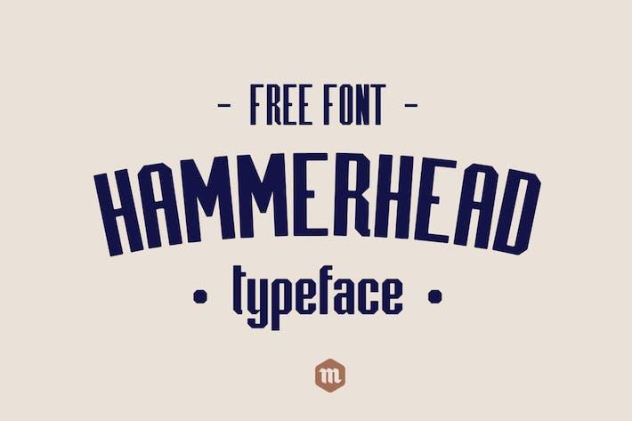 Thumbnail for Hammerhead Typeface