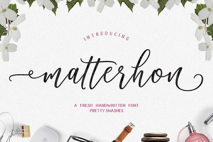 Thumbnail for Matterhon Script