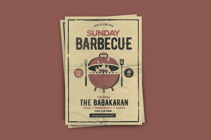 Thumbnail for Sunday Barbecue Flyer