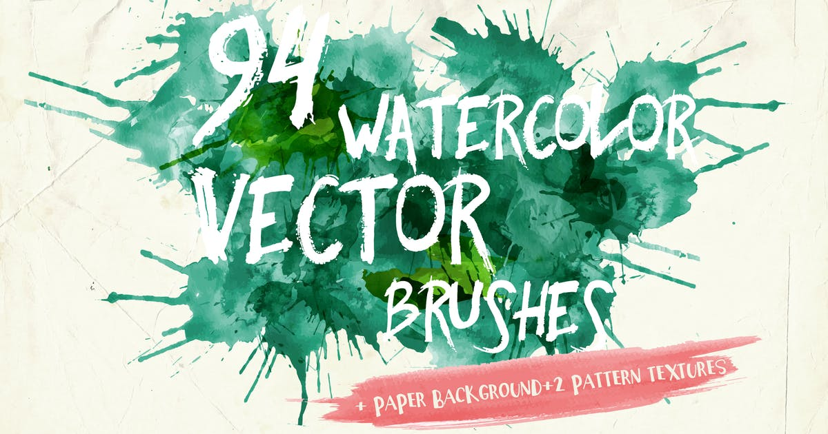 Download Watercolor Vector Art Brushes by AnnaIvanir