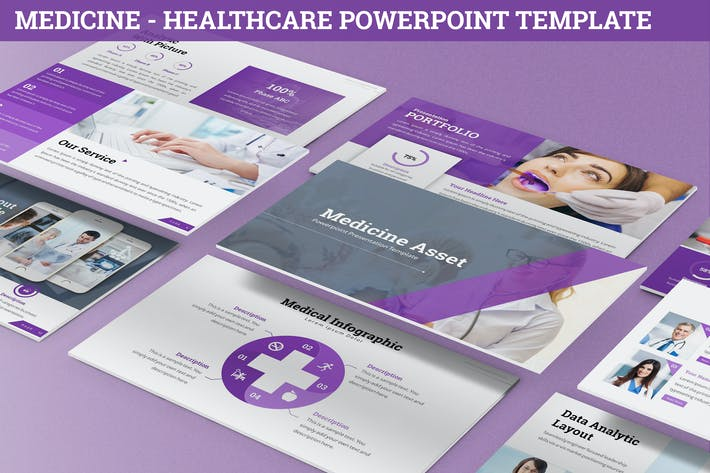 Thumbnail for Medicine - Healthcare Powerpoint Template