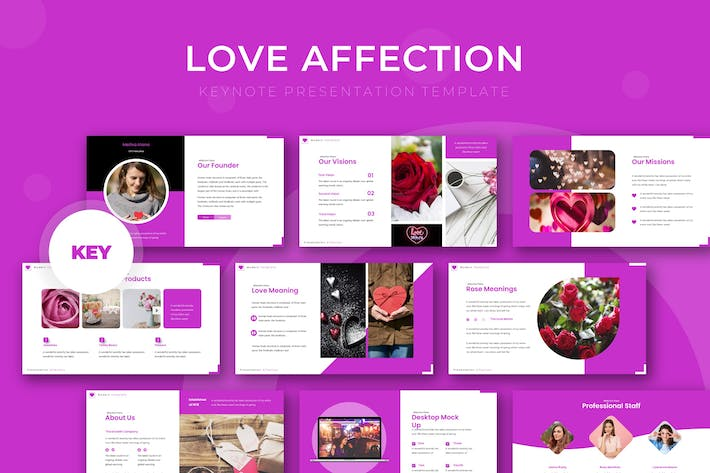 Love Affectio - Keynote Template