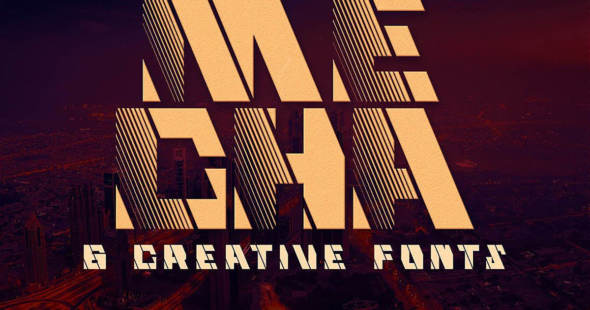 Download Mecha - Display Font by cruzine