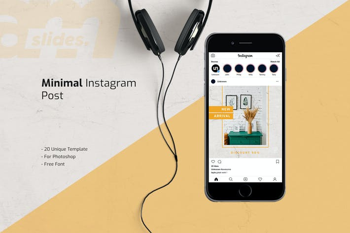 Thumbnail for Minimal Instagram Feed