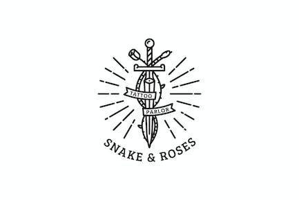 Snake & Roses