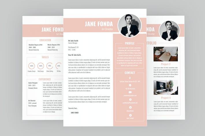 Thumbnail for Glamorous Resume Designer
