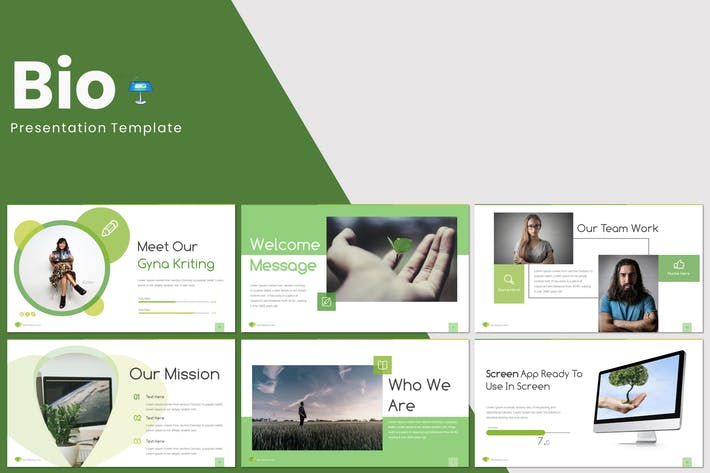 Cover Image For Bio - Keynote Template