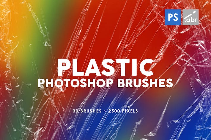 Thumbnail for 30 Plastic Photoshop Stamp Brushes | 02