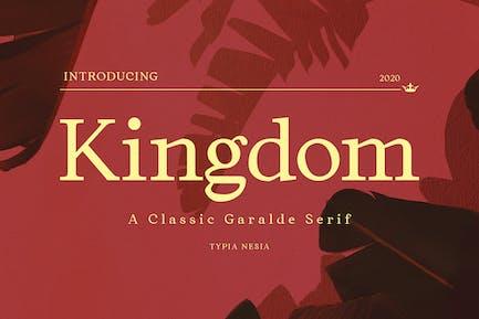 Kingdom - Elegant Classic Serif