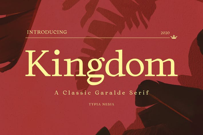 Thumbnail for Kingdom - Elegant Classic Serif