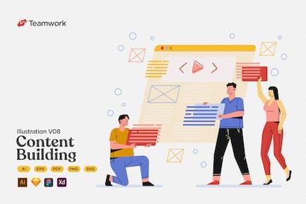 Teamwork - Content Building & Management