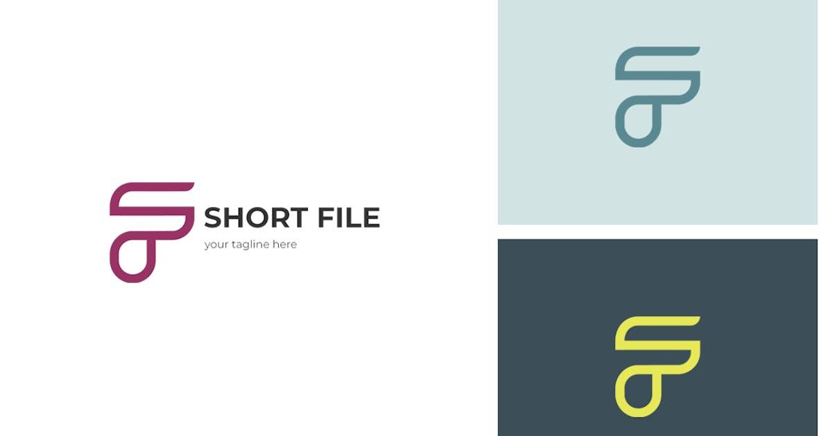 Download Short File F Letter Logo by sagesmask