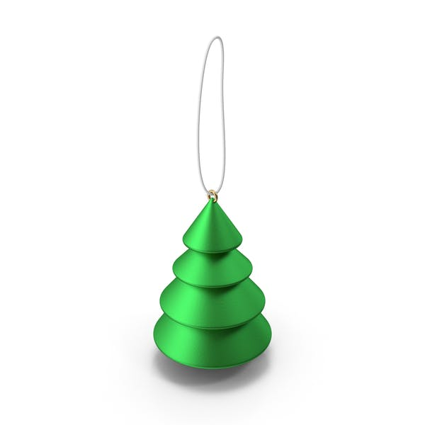 Thumbnail for Green Tree Ornament