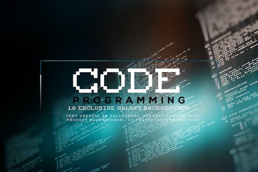 Code Programming Backgrounds