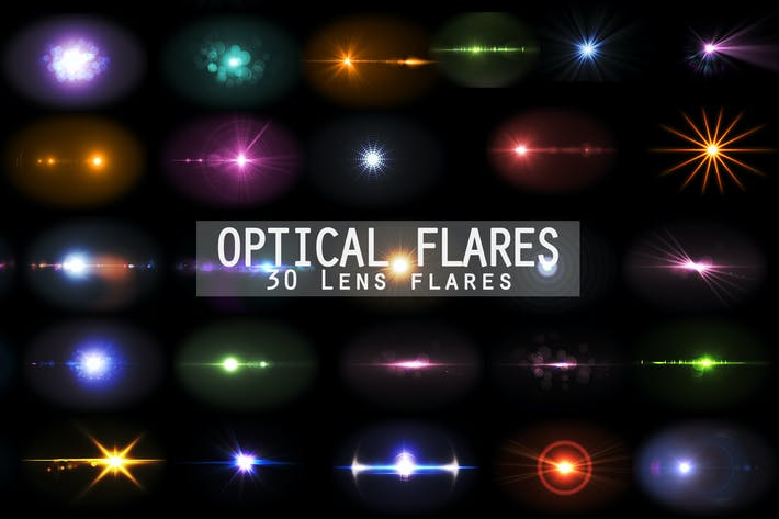 Thumbnail for Optical Flares - 30 Lens flares