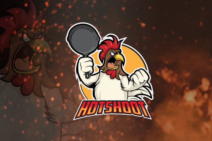 Thumbnail for Hotshoot - Mascot & Esport Logo