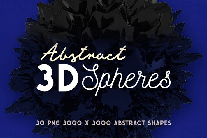Thumbnail for 30 Abstract 3D Spheres