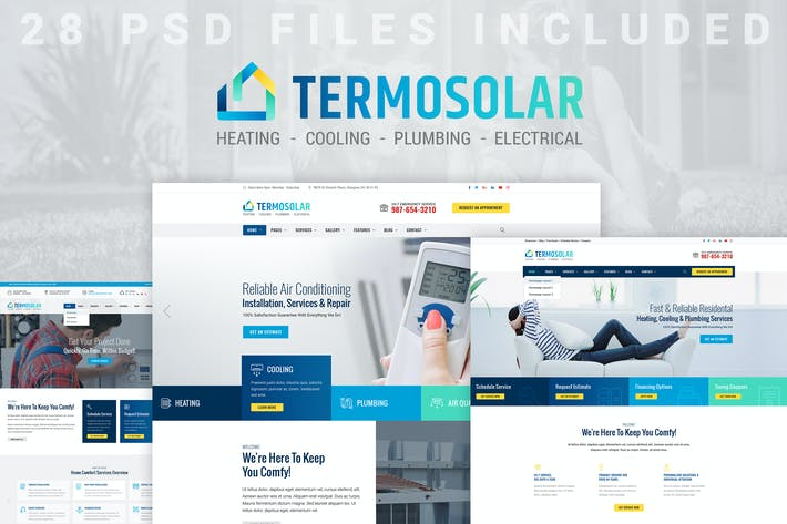 Thumbnail for Termosolar - Installation, Repair, Maintenance PSD
