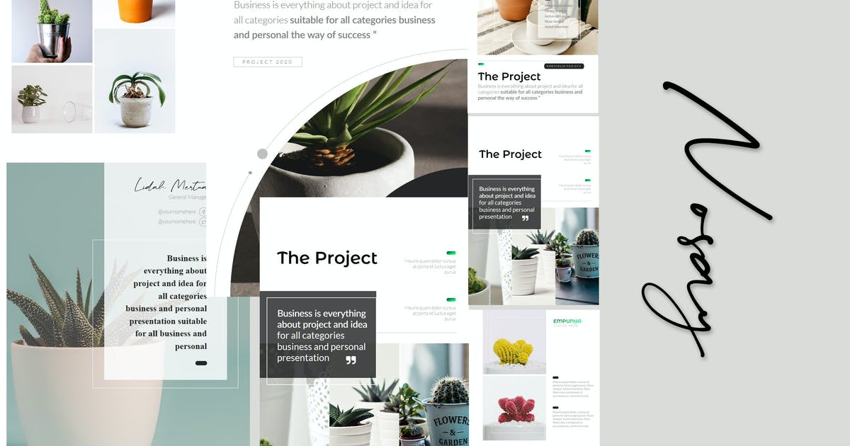 Download Nosay - A4 Powerpoint Template by Artmonk
