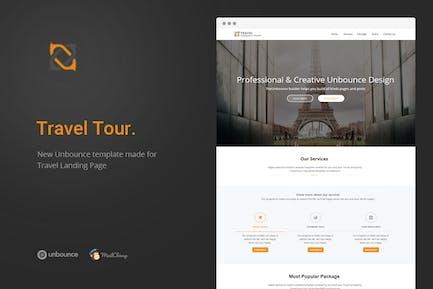 Travel Tour - Unbounce Landing Page