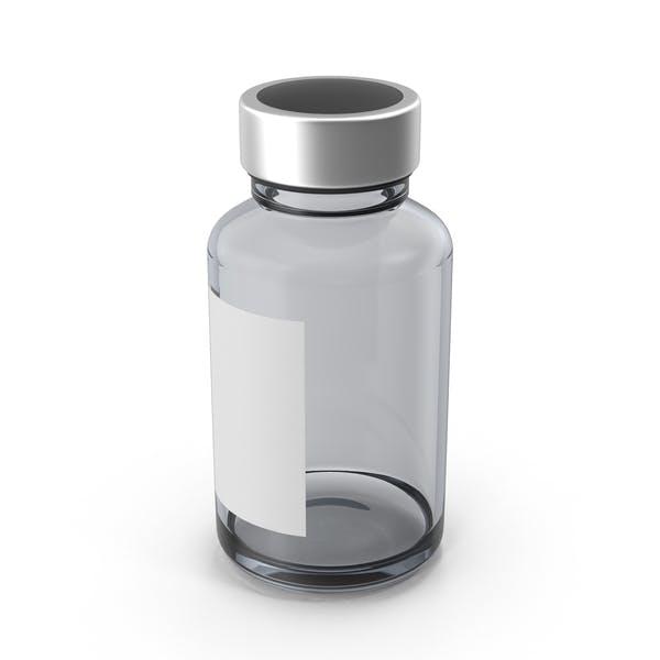 Thumbnail for Фармацевтическая бутылка с наклейкой