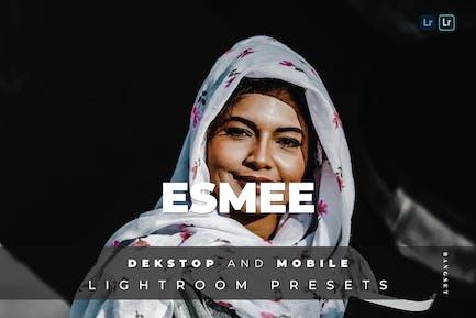 Esmee Desktop and Mobile Lightroom Preset