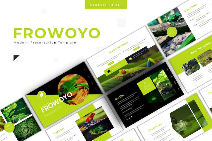 Thumbnail for Frowoyo - Google Slide Template