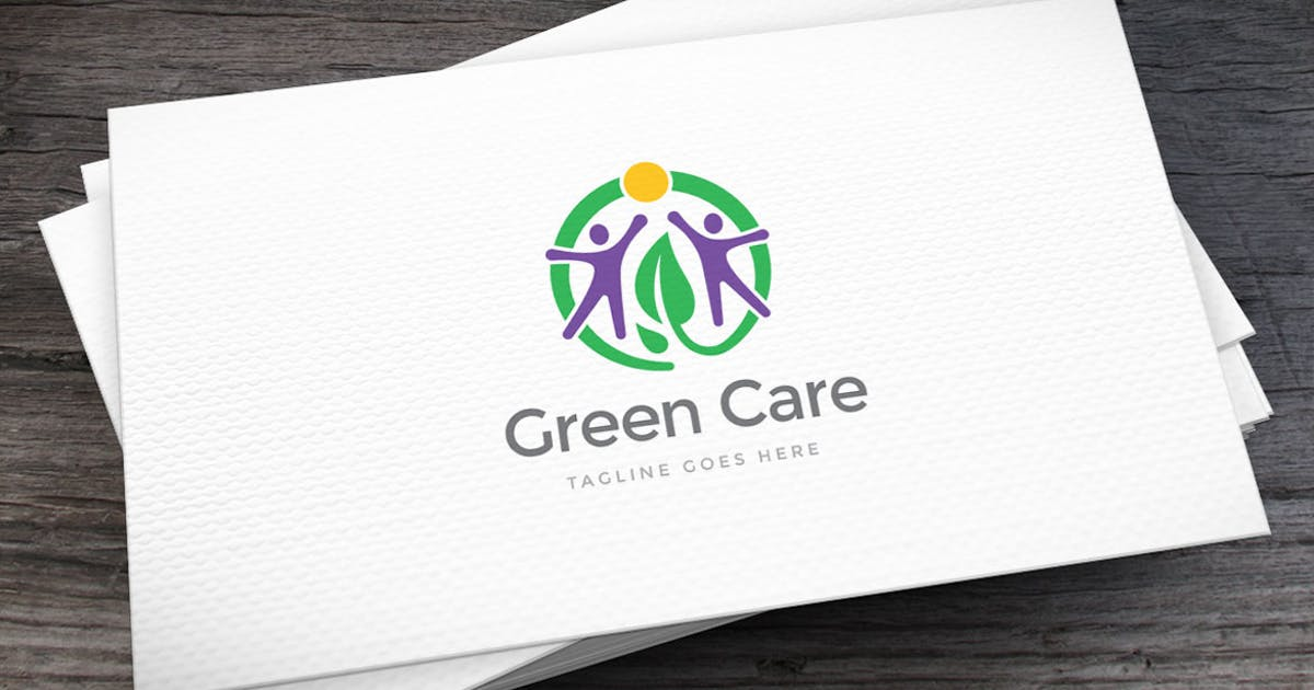 Download Green Care Logo Template by empativo
