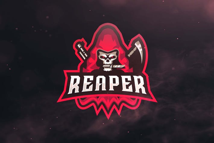 Thumbnail for Reaper Sport end Esports Logos
