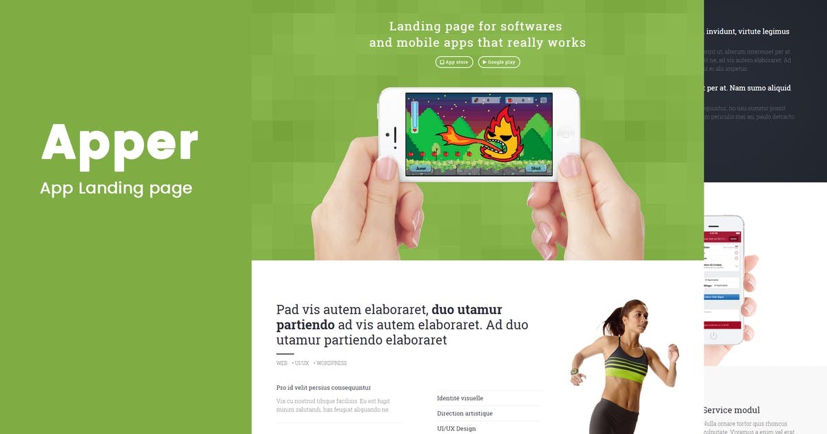 Download Apper - Landing Page by codenpixel