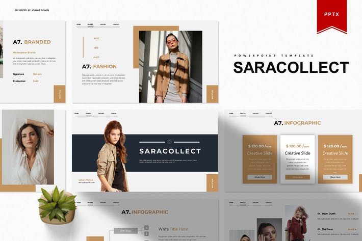 Saracollect | Powerpoint Template