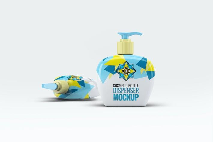 Cover Image For Kosmetik-Flaschenspender Mock-Up V.2