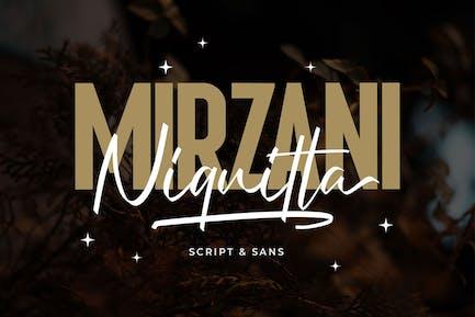 Niquitta Mirzani - Font Duo