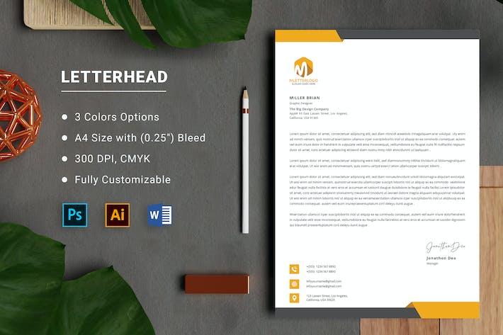 Letterhead Word