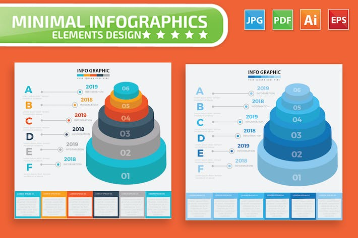 Cover Image For Infographic Elements Design