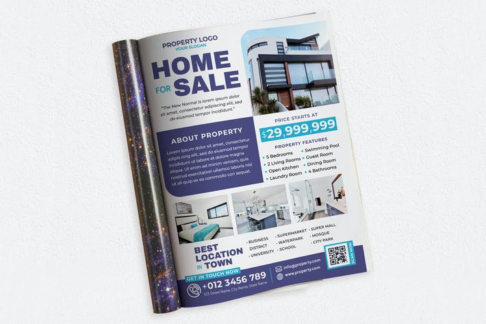 Thumbnail for Home For Sale Ads Magazine