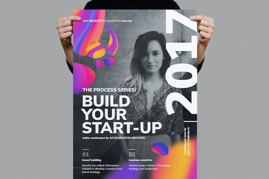Build Your Start-up Business Poster
