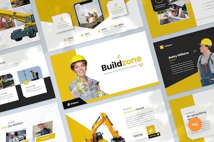 Construction & Building Slides Template