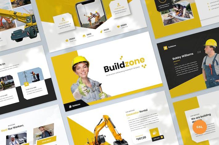 Thumbnail for Шаблон строительных и строительных слайдов