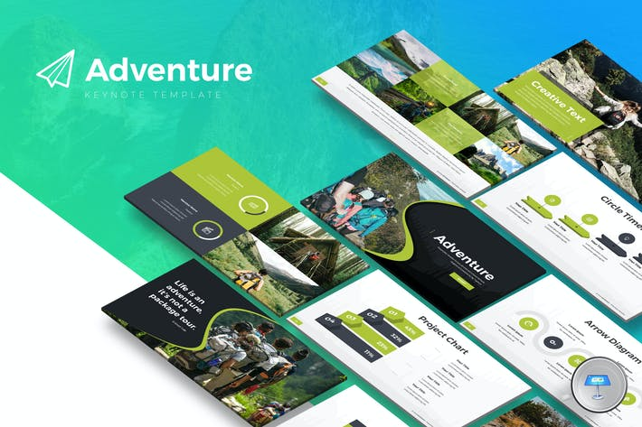 Cover Image For Adventure - Keynote Template
