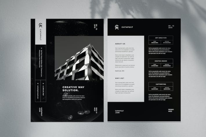 Cover Image For Minimal Corporate flyer