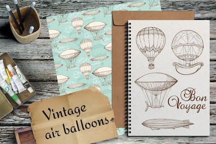 Globos de Aire Vintage