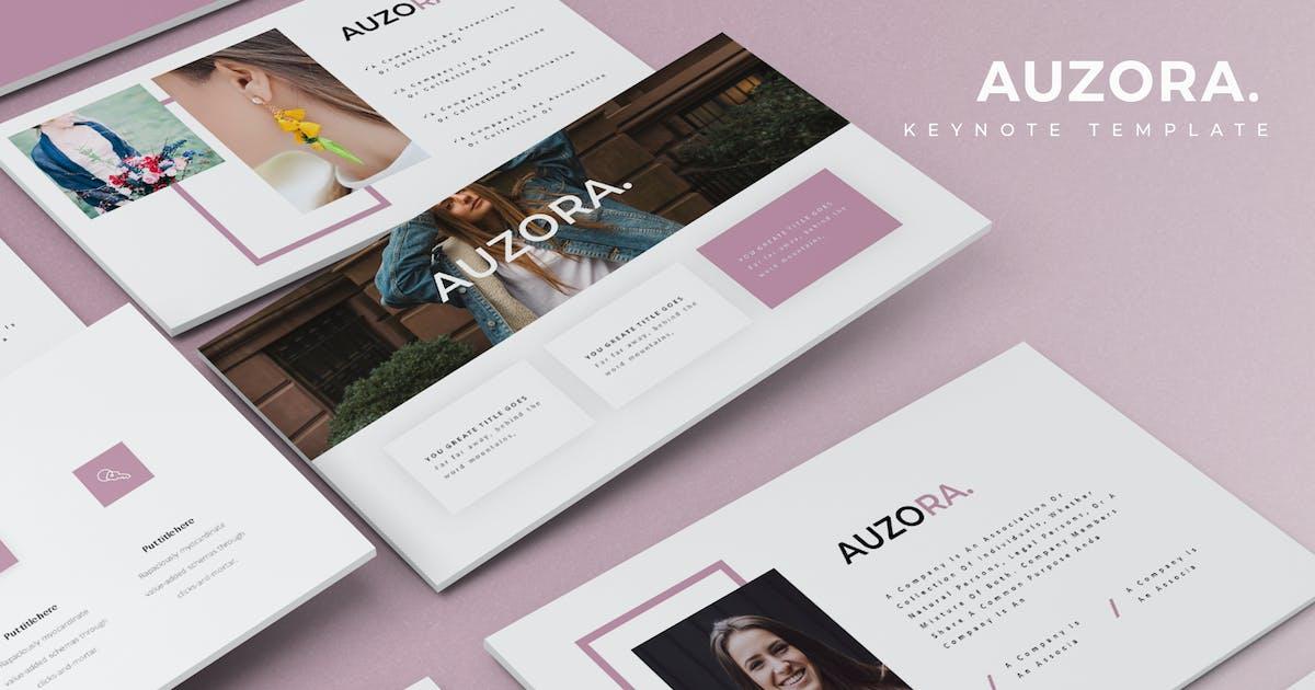 Auzora -  Keynote Template by aqrstudio