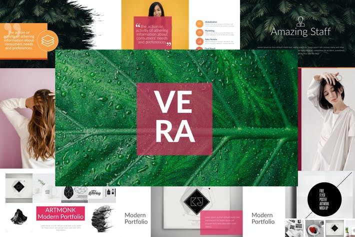 Thumbnail for VERA Powerpoint Template